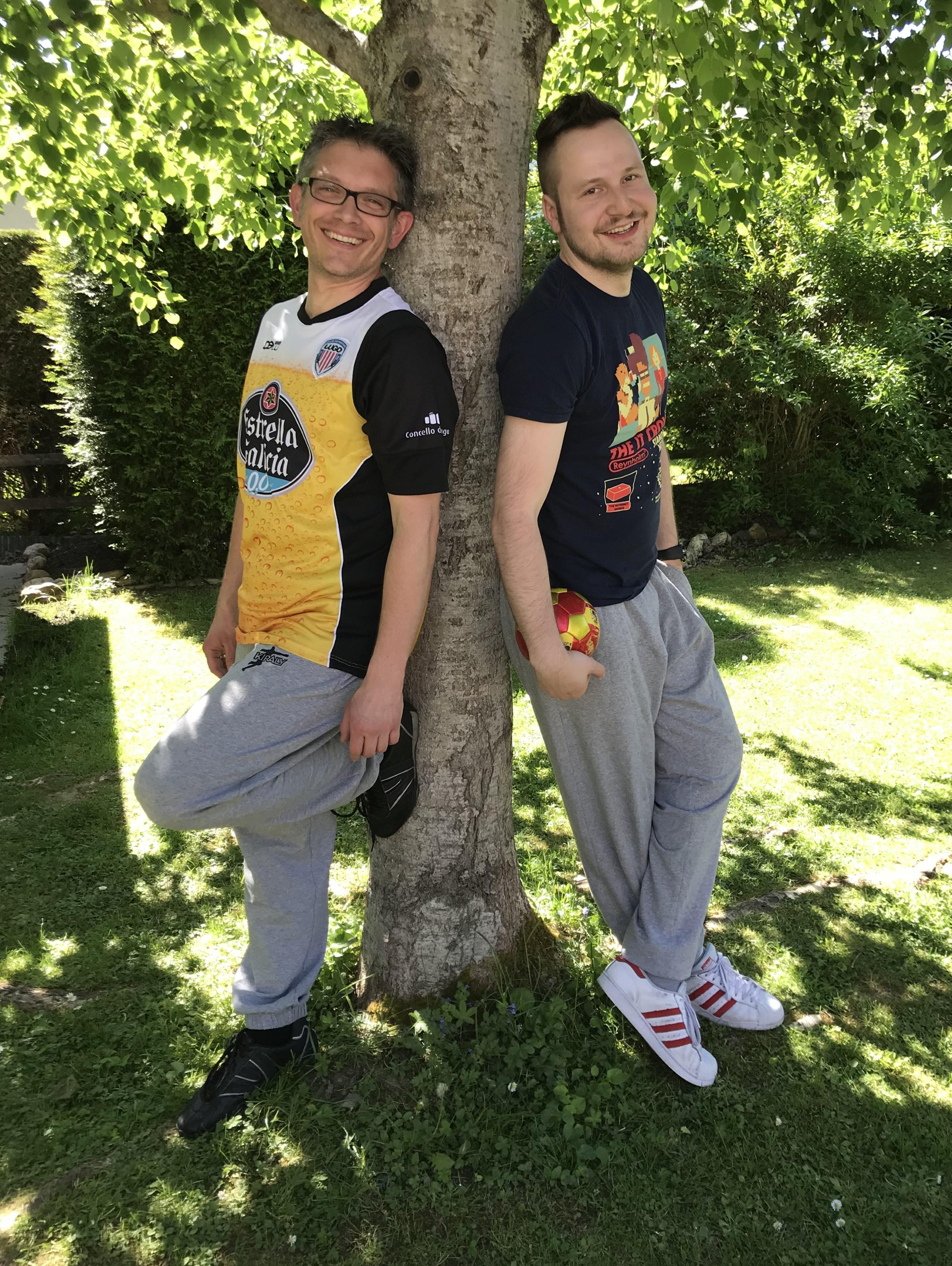 Stefan und Nick